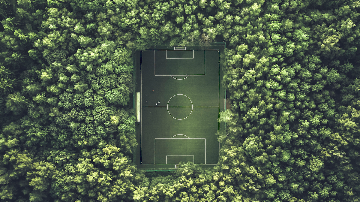 Soccer in the Woods