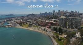 TRAVEL SAN FRANCISCO - WEEKEND VLOG 11 : OUR FRIENDS ARE HERE