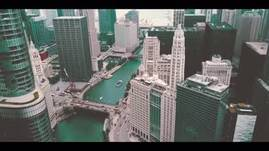 Little edit of Chicago IL by the river