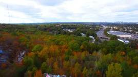 Massachusetts Foliage via Drone