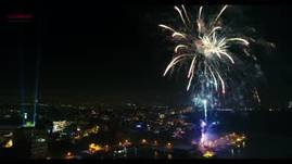 Fireworks New Year Constanta, Tomis Harbour