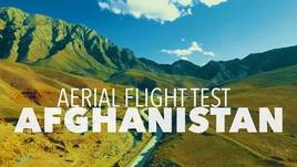 First flight Afghanistan