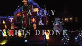 A Guy and His Drone - Christmas Lights