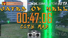 DRL Sim, GOH City, 47:06-HaWkX hot lap