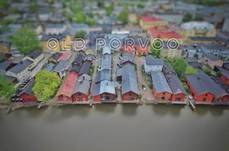 Old Porvoo is, as it's name says, the oldest part