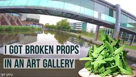 Broken Props In An Art Gallery? MINI QUAD TAKEOVER