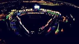 Holiday Lights at Constellation Field home of the Sugarland Skeeters