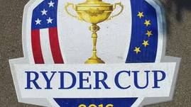 Ryder Cup 2016 construction
