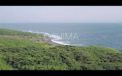 Short film shoot with drone in Izu-Oshima. <br />I