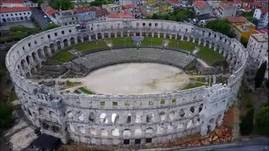 Pula, a seafront city on the tip of Croatia's Istr