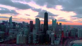 Chicago at Sunset!