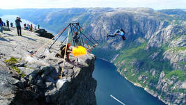 Basejumping in Norway