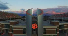 This shows off the natural beauty of Clemson Unive