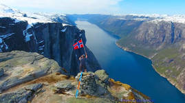 Celebrating Norway