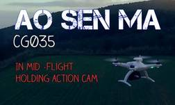 Aosenma cg035 In mid flight holding action cam @ songoland