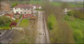 Just a tilt-shift test of my daughter skateboardin