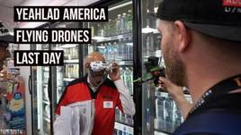 YEAHLAD America Flying Drones Last Day: English Blood & MINI QUAD FPV Adventures