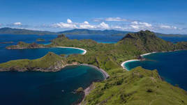 Labuan Bajo/Komodo National Park from Above