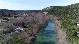 Phantom 4 Pro Flight along the Guadalupe River near Canyon Lake, TX with Music