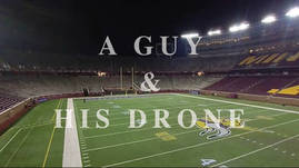A Guy and His Drone - Pro Football Game