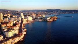 The golden glow of Marseille, France<br /><br />Ma
