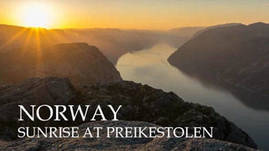 The 'Preikestolen' hike is highly recommended if v
