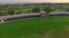 Aerial video of the Thana City Golf & Sports C