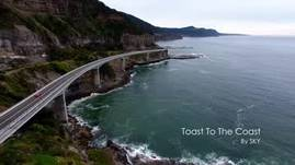 Toast to The Coast - Sea cliff bridge via Aerial Drone