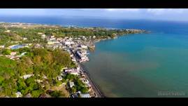 Lucea Jamaica Drone View 2017
