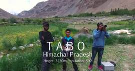 TABO - Spiti Valley Aerial Video - Himachal Pradesh - India