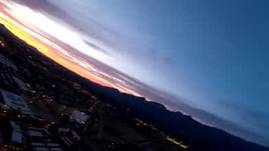 Evening fixed wing FPV formation