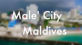 Male', capital city of Maldives