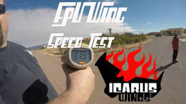 Icarus FPV Wing Speed Test