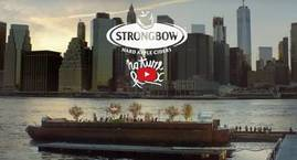 Strongbow Hard Apple Cider - Nature Remix - Swale Project / Brooklyn Drones NYC & SkyCamUSA