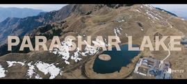 Aerial compilation from Parashar valley, India. Lo