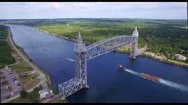The Cape Cod Canal Railroad Bridge
