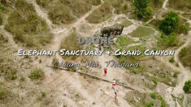 Elephant Sanctuary and Grand Canyon Jumping, Chiang Mai, Thailand