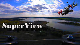 Gopro 4 Session FPV Freestyle Superview test - RFX185 -