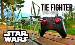 Tie Fighter Star Wars drone Unboxing + Review + First flight + iprovments 3D