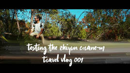 Testing the Zhiyun Crane-M // Travel Vlog 001