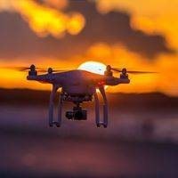 Drone's Eye View Hong Kong